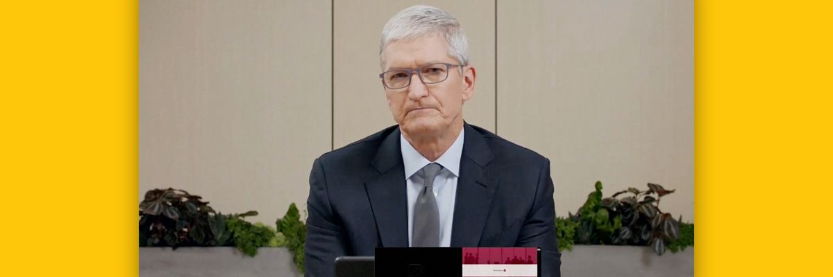 Tim Cook at the hearing