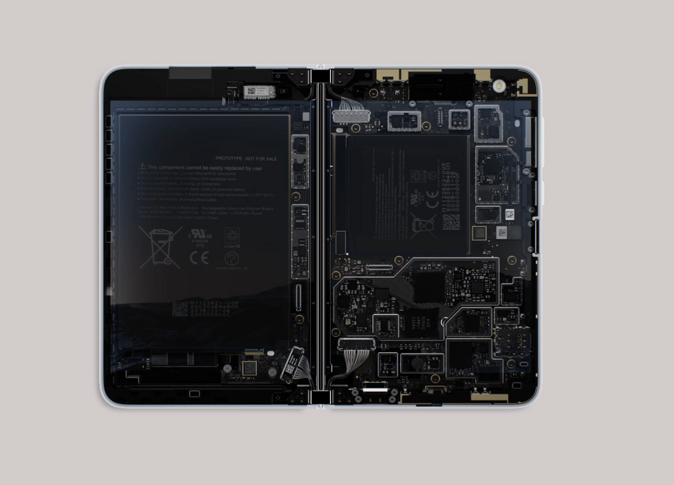 Surface Duo insides