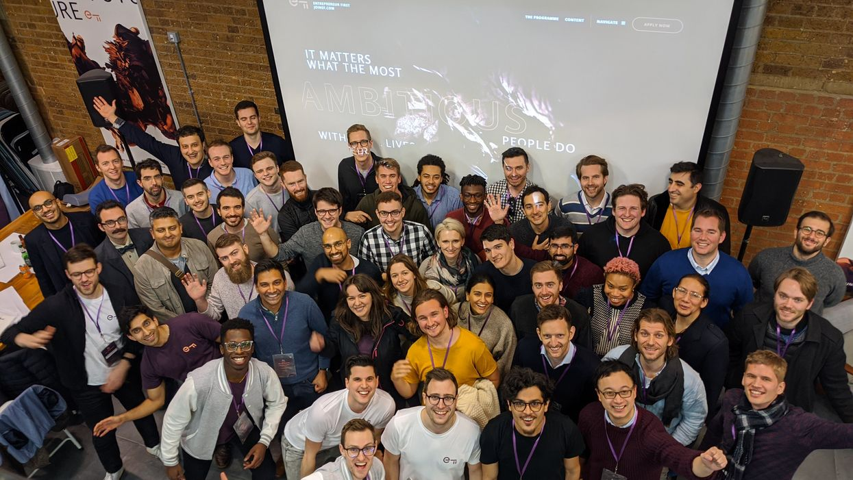 Entrepreneur First's London cohort