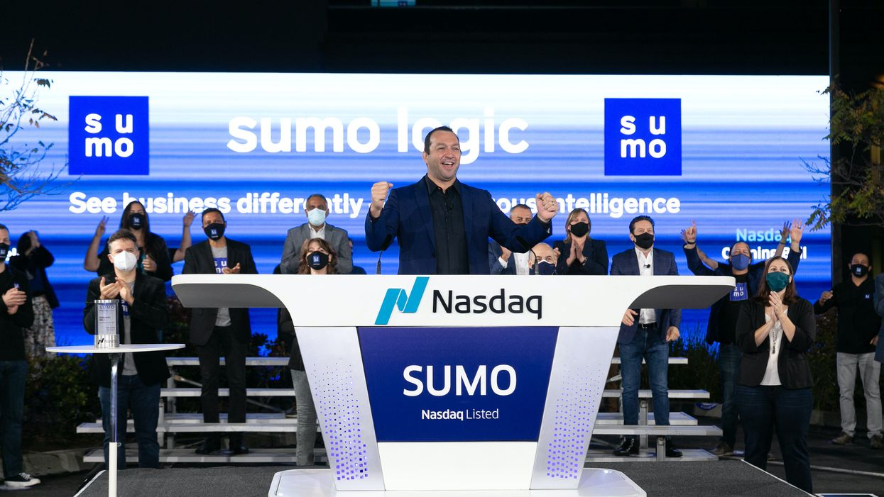 Sumo Logic CEO and President Ramin Sayar