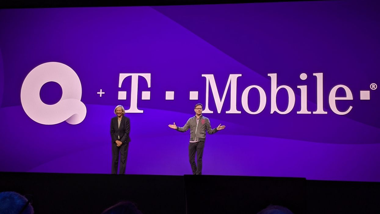 Quibi CEO Meg Whitman and T-Mobile CEO Mike Sievert