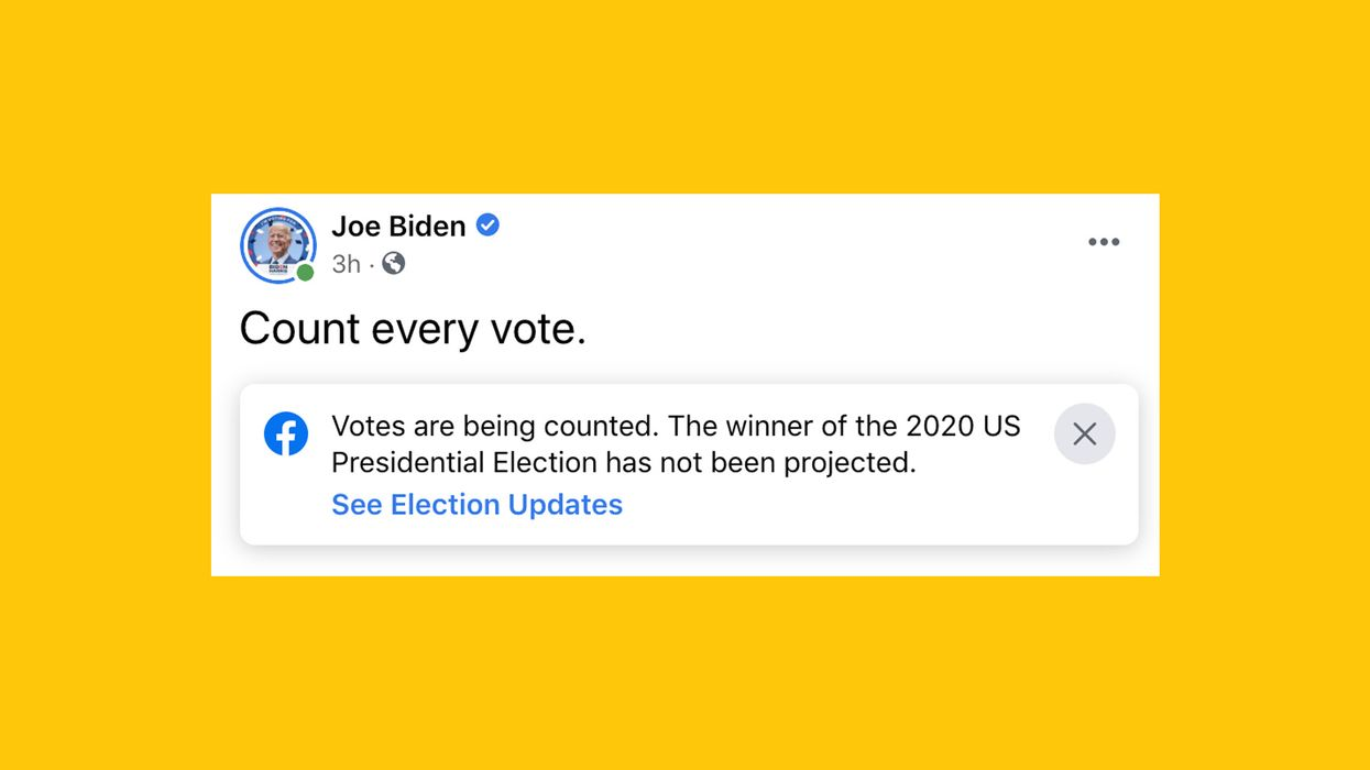 Facebook and Twitter are finally calling out election misinformation. Is it working?