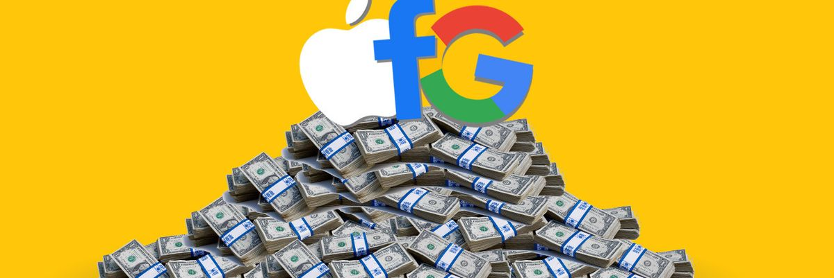 Big Tech cash pile earnings