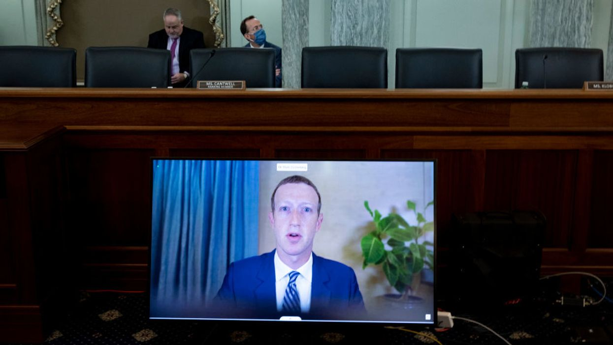 Facebook CEO Mark Zuckerberg speaks on Oct. 28.