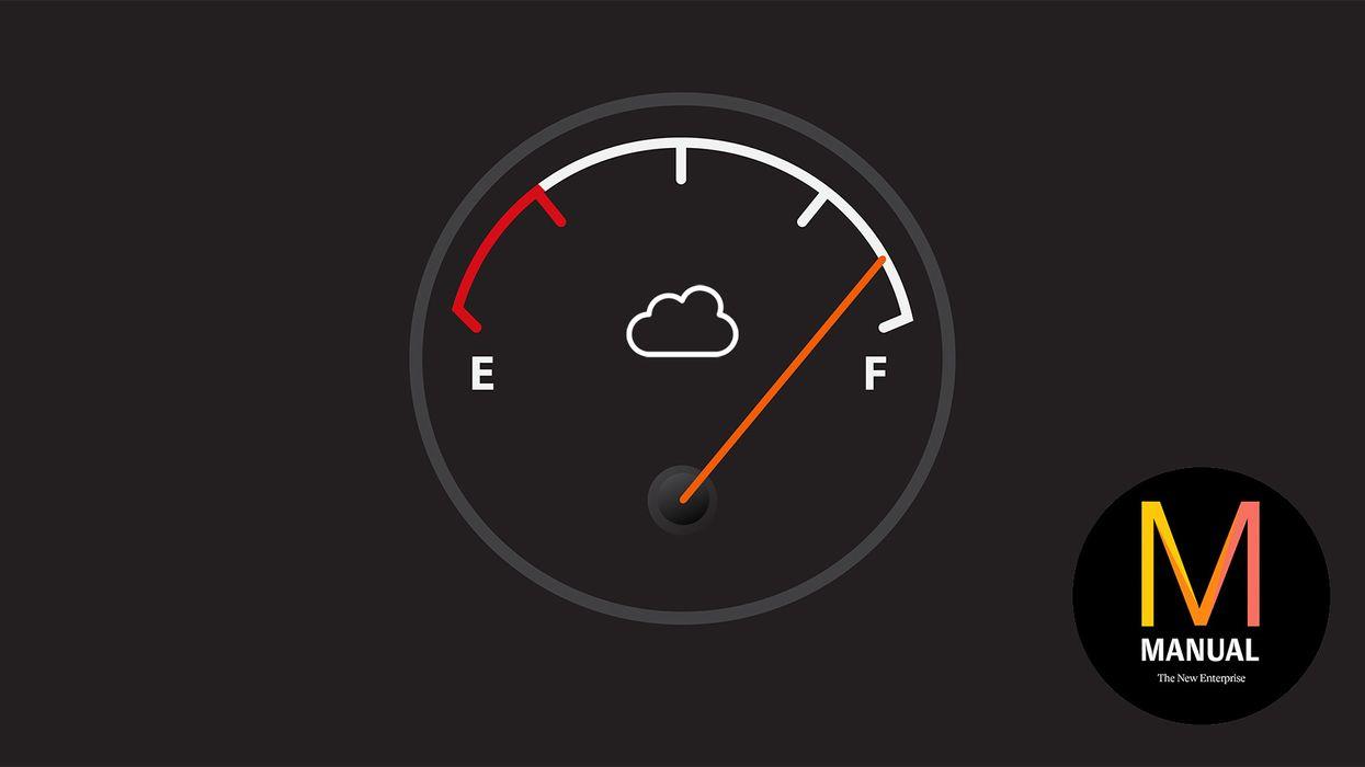 A cloud gauge