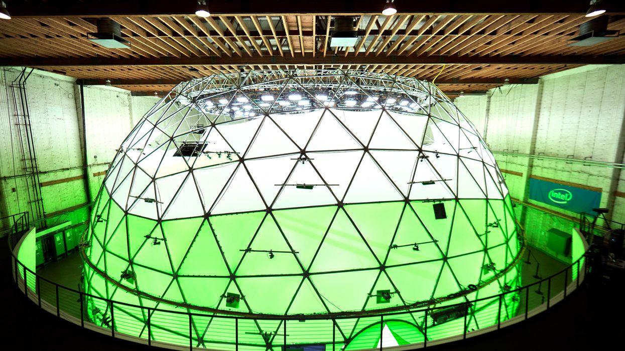 Intel Studios dome