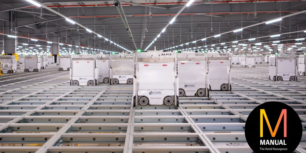 The pandemic has ravaged grocery chains, but tech is helping Ocado thrive