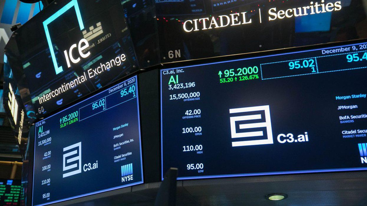 Tom Siebel takes a victory lap after C3.ai's blockbuster debut on Wall Street