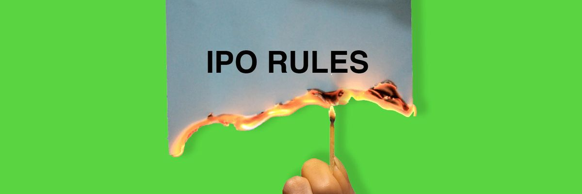 IPO 2.0: A choose-your-own adventure