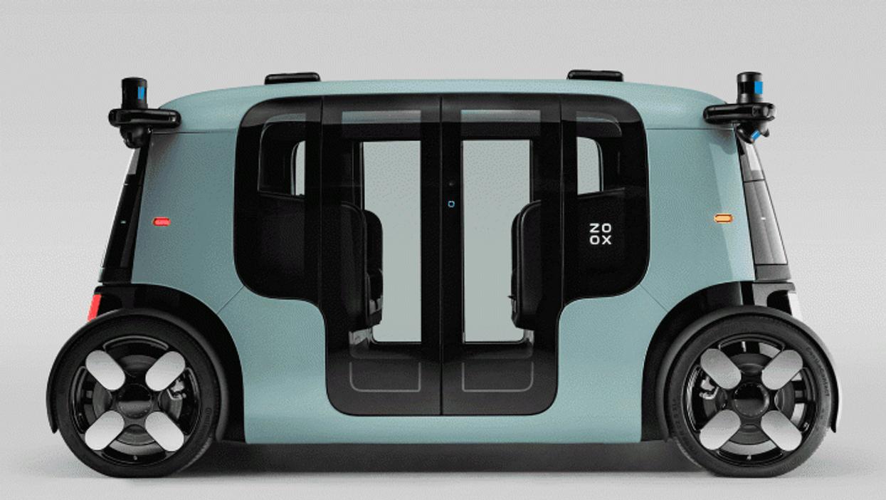 Zoox unveils its driverless robotaxi