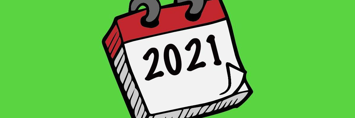 Starting fresh in 2021