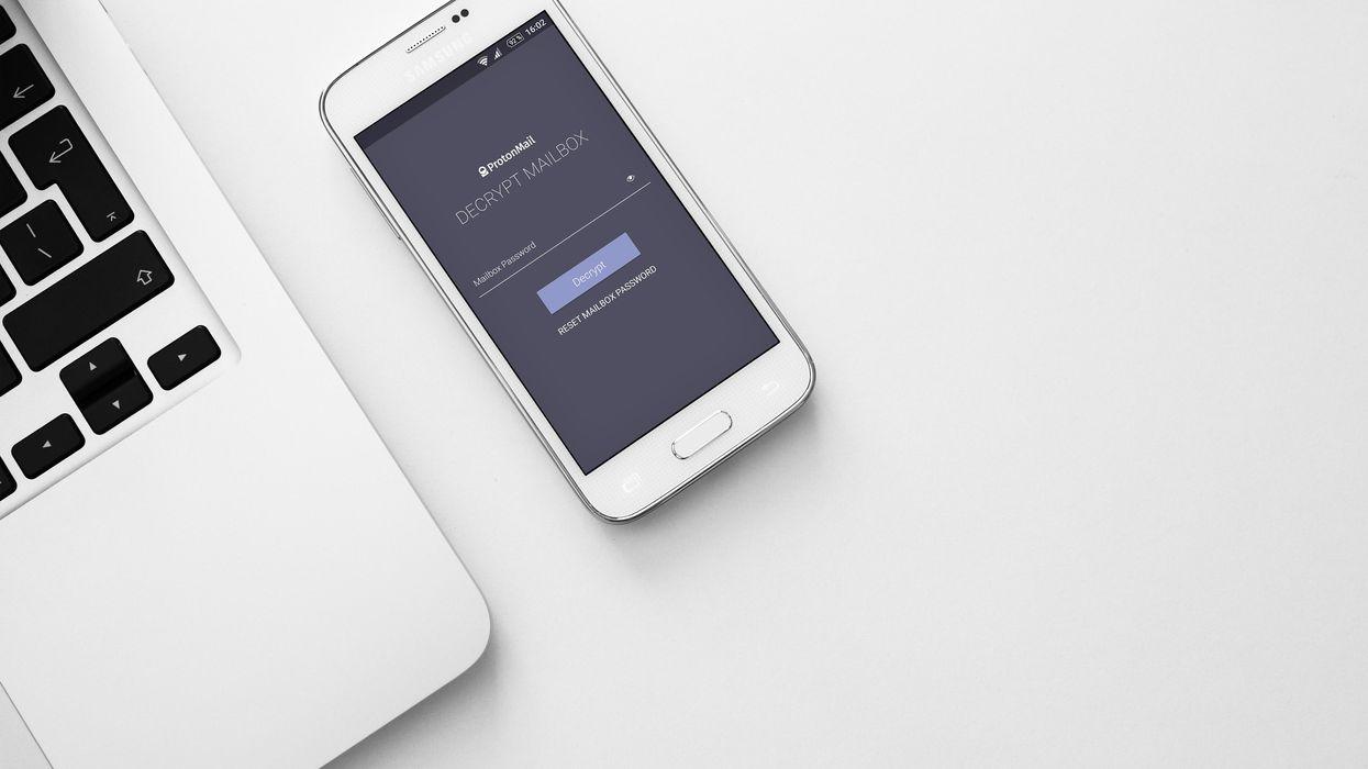 ProtonMail app