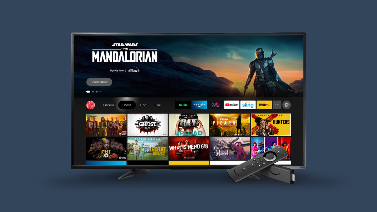 The new Fire TV UI