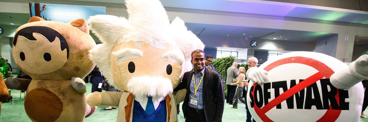 Salesforce's theory for success
