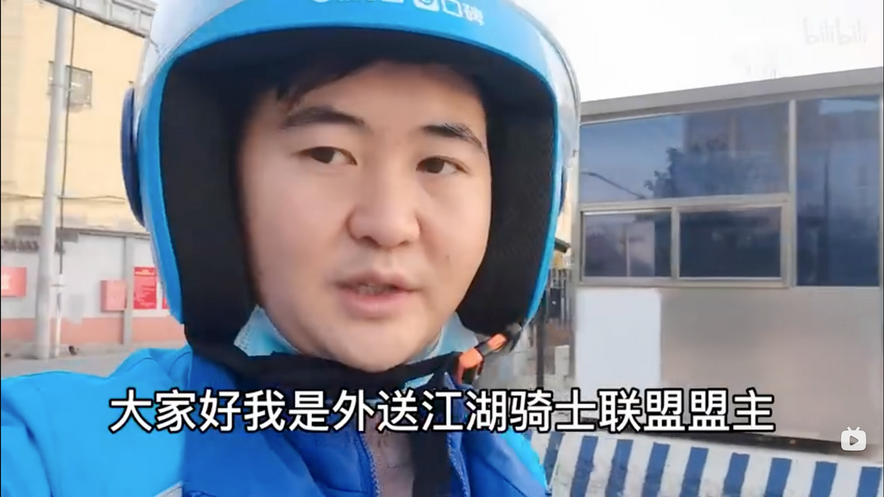 Arrested: Chinese delivery activist