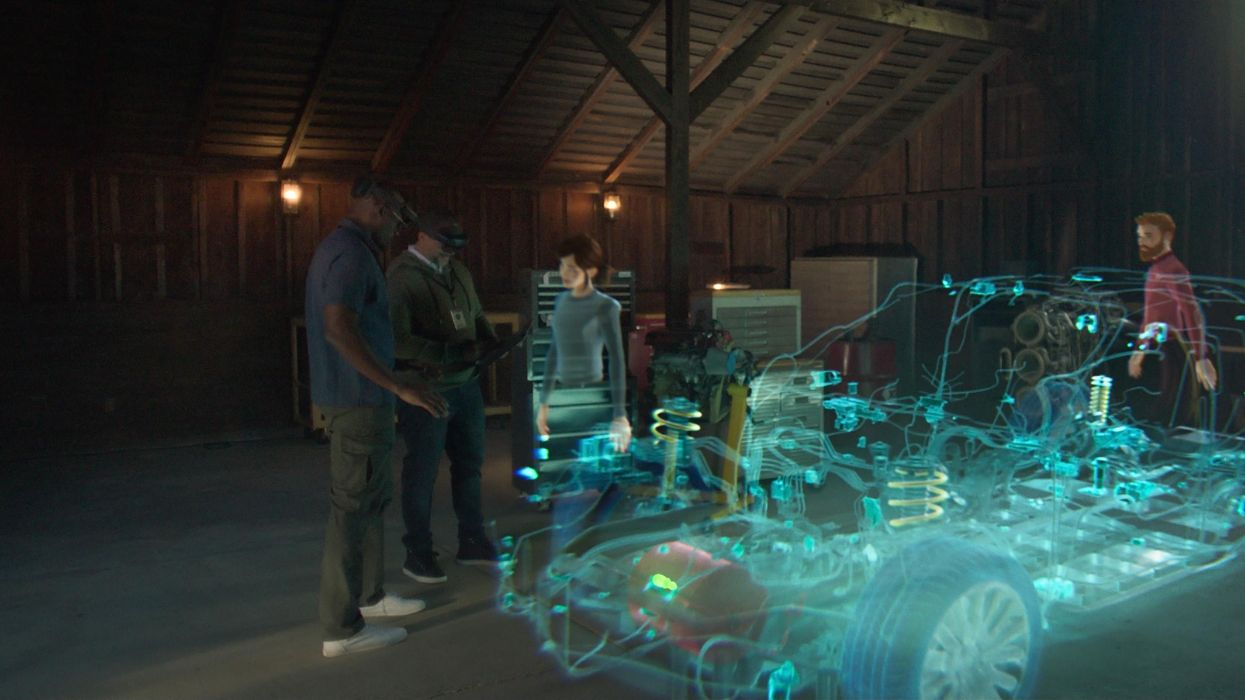 Microsoft's master plan for consumer AR: Start with the plumbing
