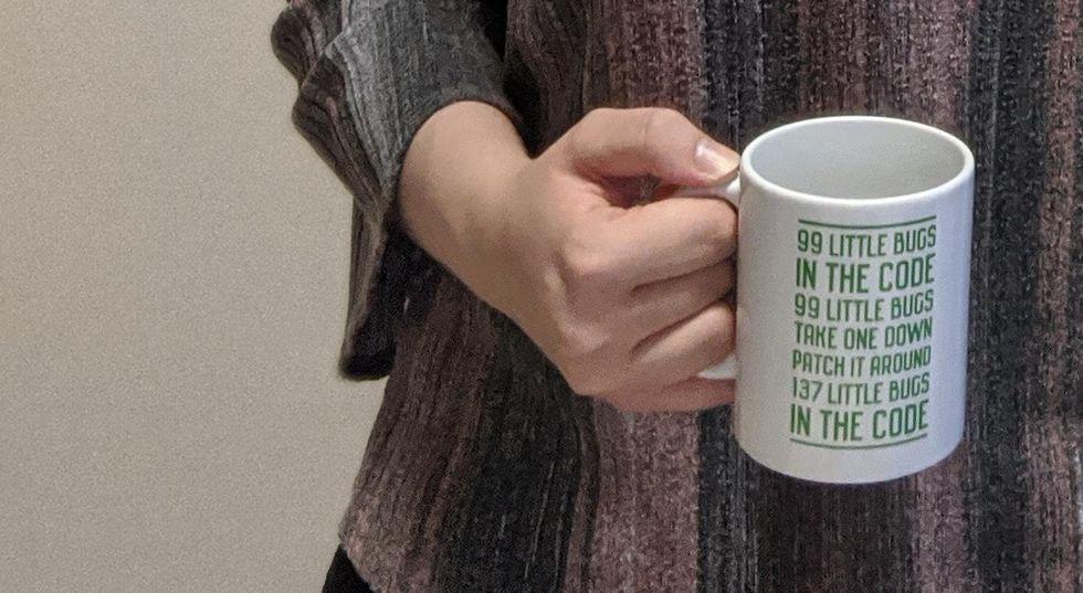 Serena Schaefer's mug.