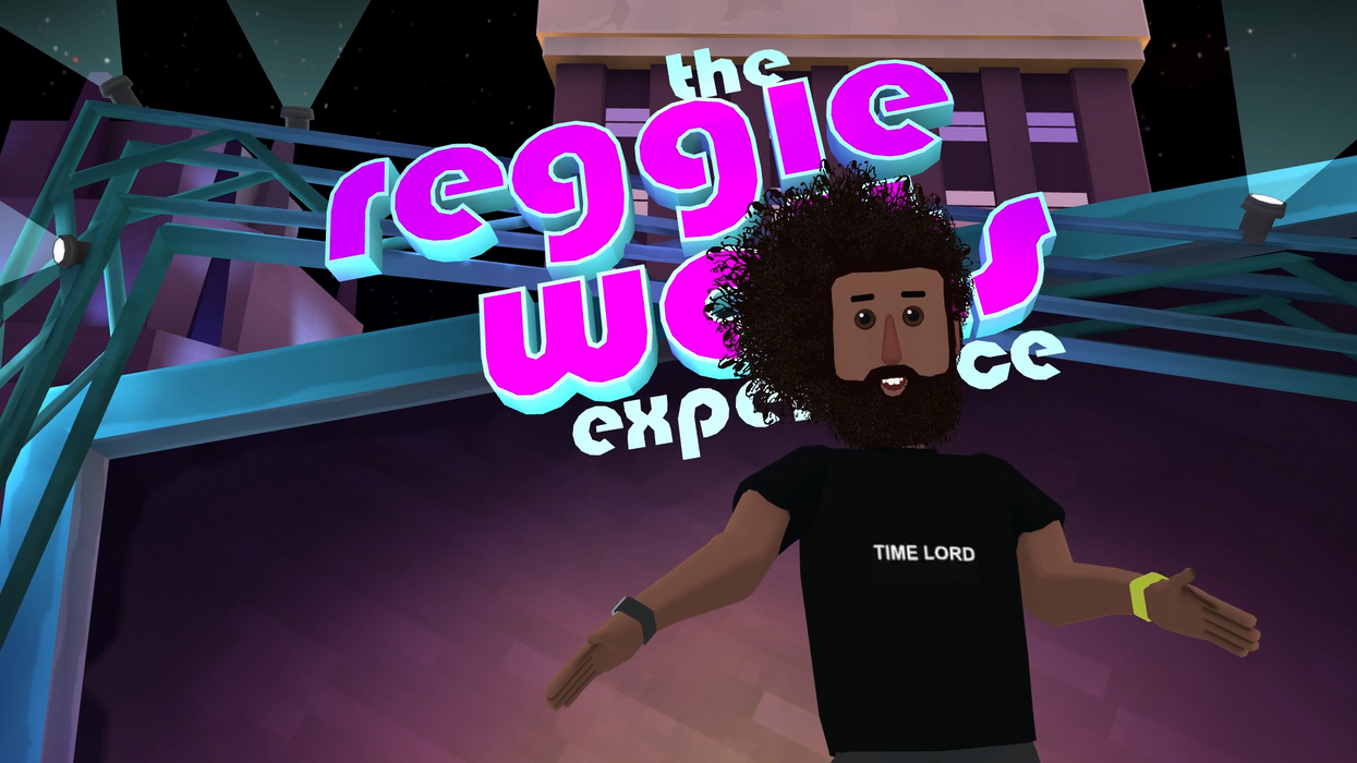 Reggie Watts in Altspace VR