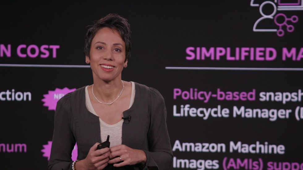 Mai-Lan Tomsen Bukovec runs Amazon S3 and AWS Storage.