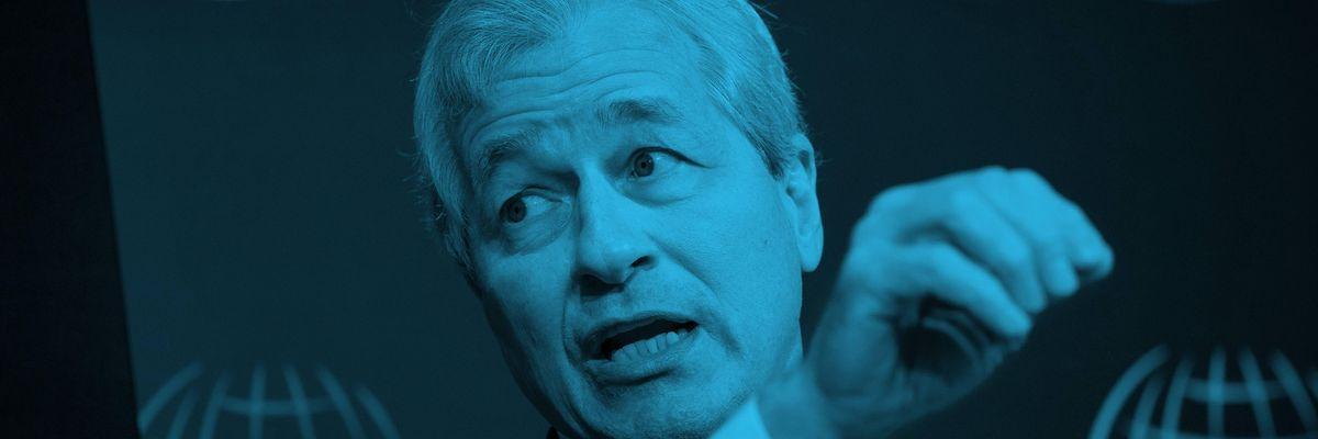 JPMorgan CEO Jamie Dimon is worried about fintechs.