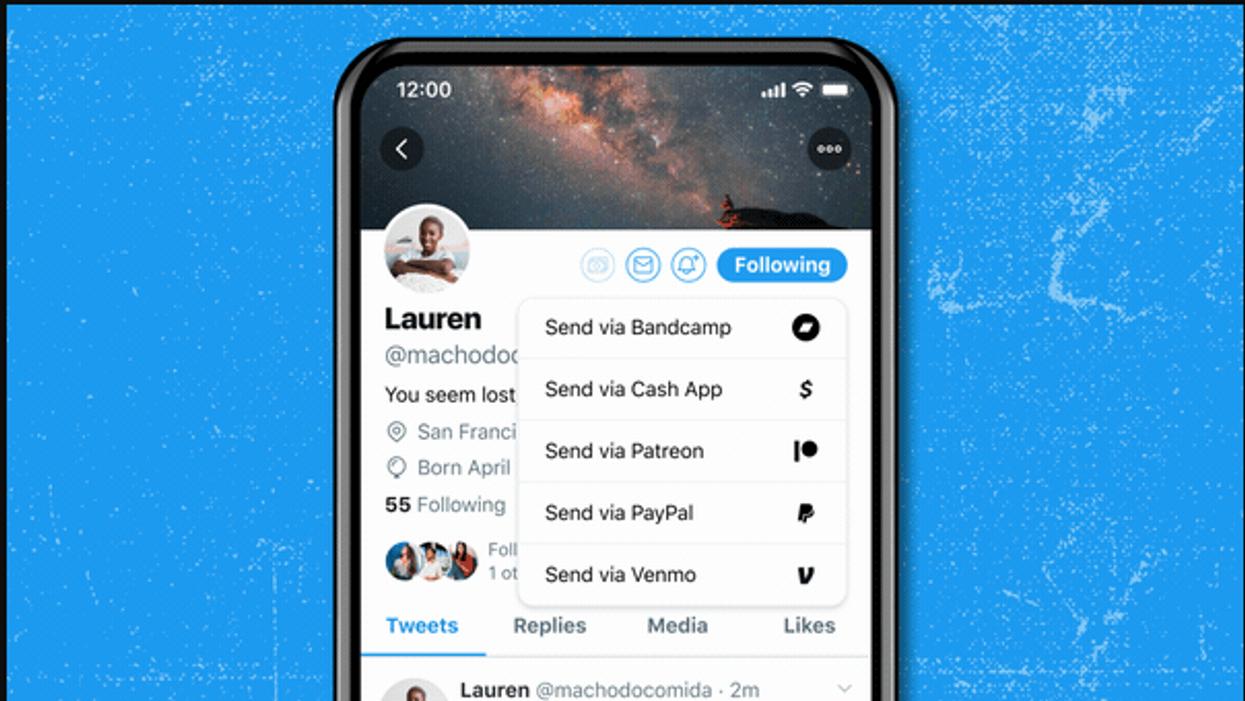 Twitter adds a Tip Jar, letting users pay their favorite tweeters