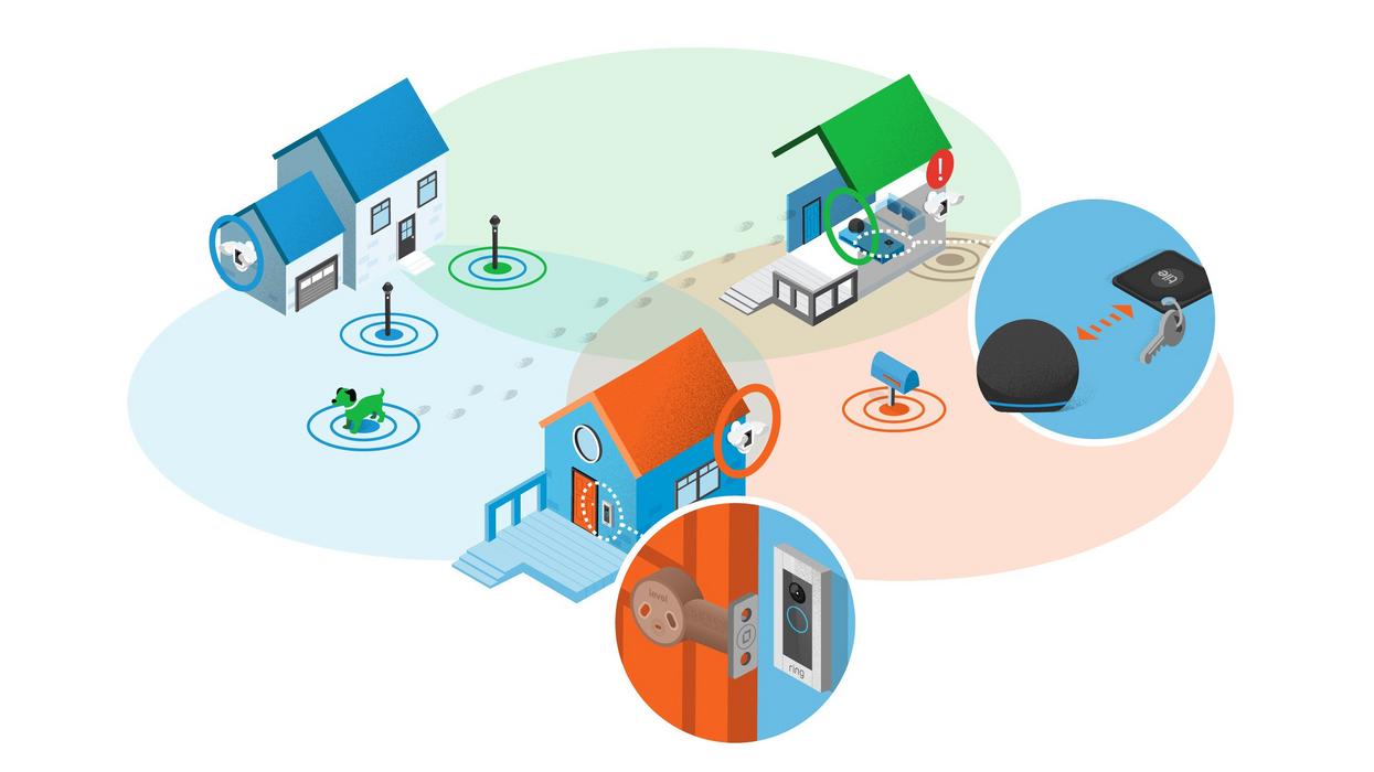 Amazon lights up Sidewalk, its wireless IoT network