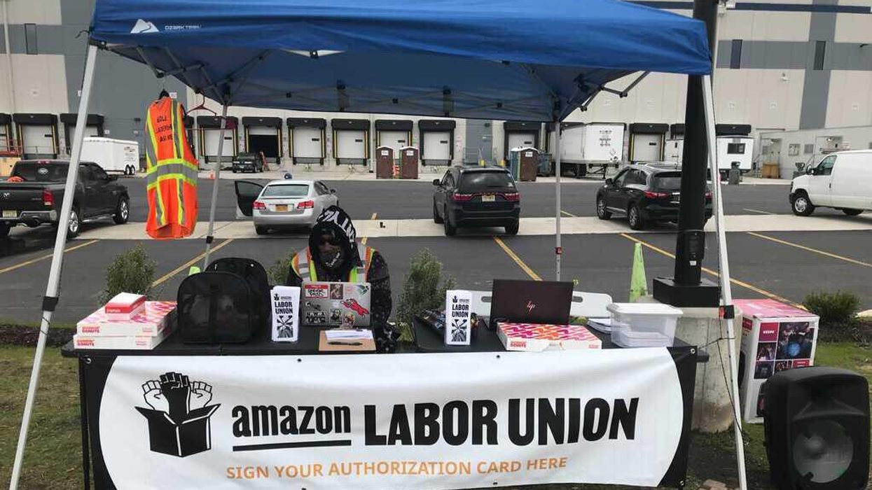 Amazon fired him. Now, he's helping Staten Island workers unionize.
