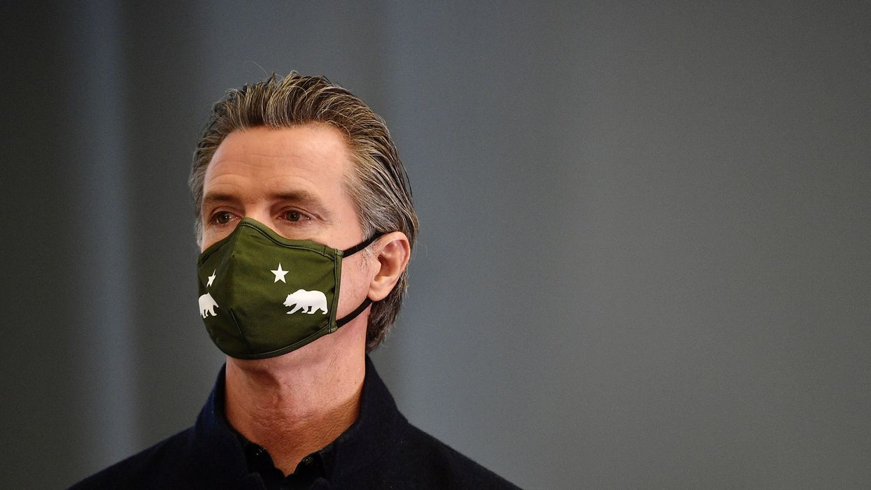 California Gov. Gavin Newsom has leaned on the private sector in the state's coronavirus response.