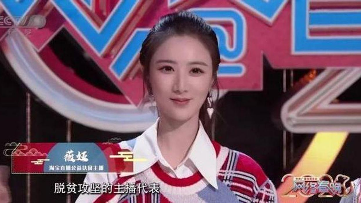 Liya, the star of China's most recent New Year Gala