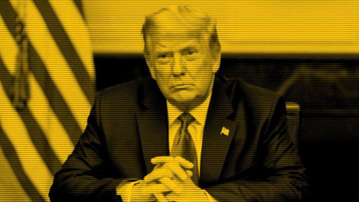 An illustraion of Donald Trump