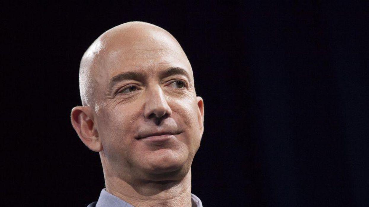 Amazon co-founder Jeff Bezos.
