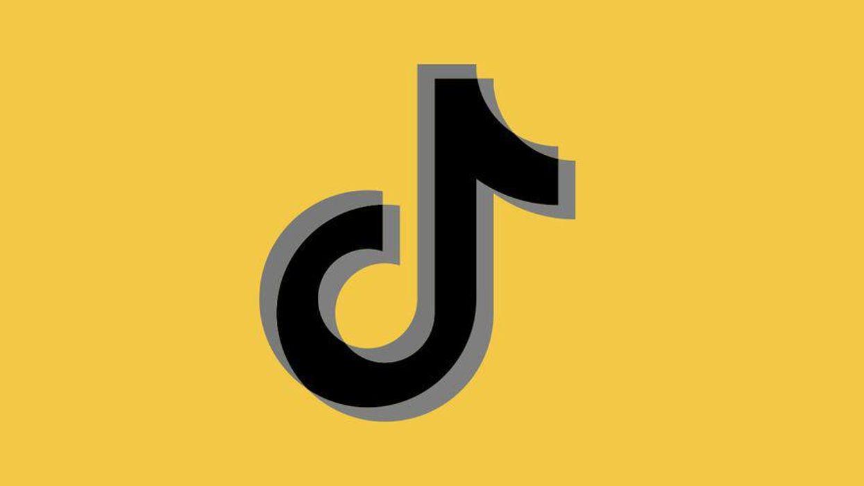 The TikTok logo