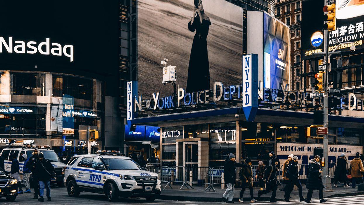 Nasdaq site in Times Square