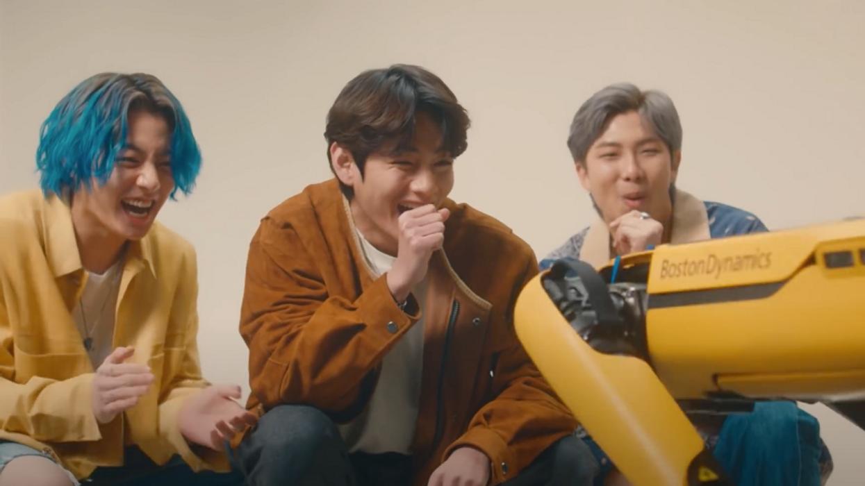 Well, BTS is doing robotics ads now