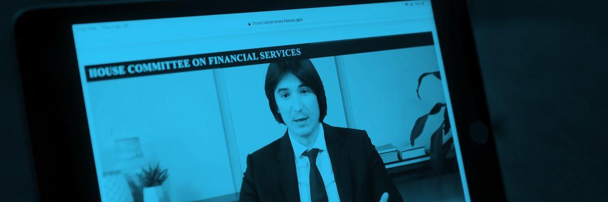Robinhood CEO Vlad Tenev testifies at a House hearing