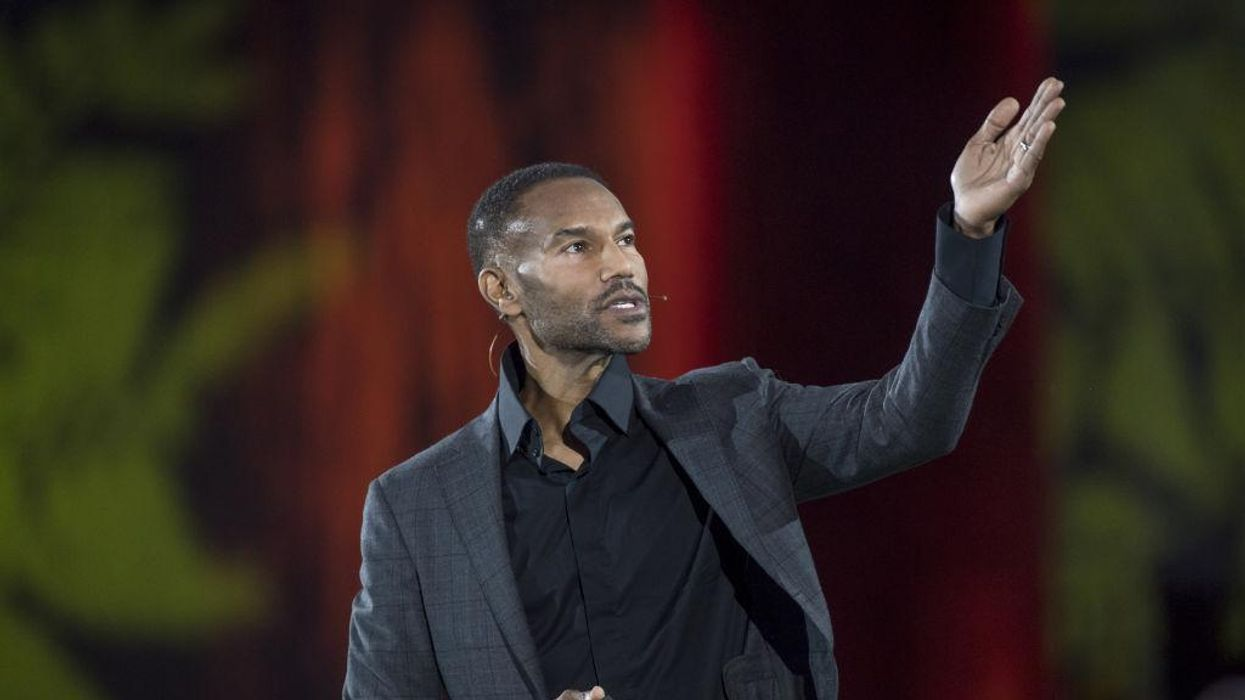 Tony Prophet at the 2018 Dreamforce conference.