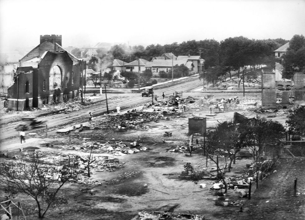 Greenwood after the 1921 attack