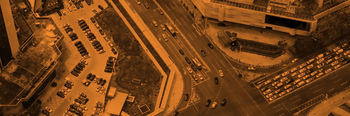 Traffic in Shenzhen, China