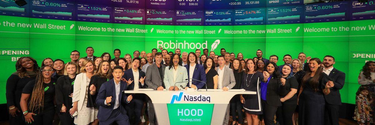 Robinhood employees and executives