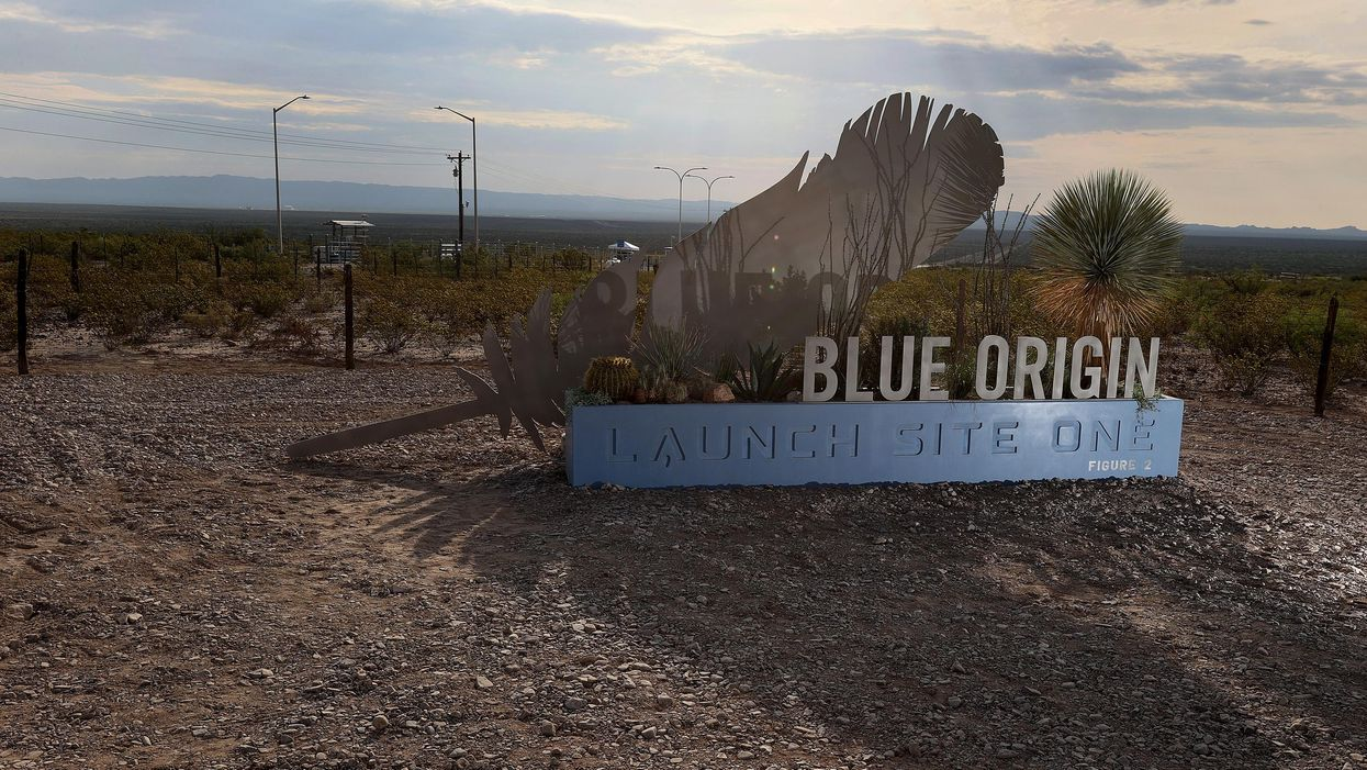 Blue Origin launch site