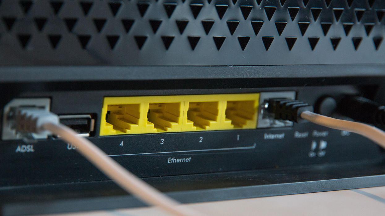 An internet router