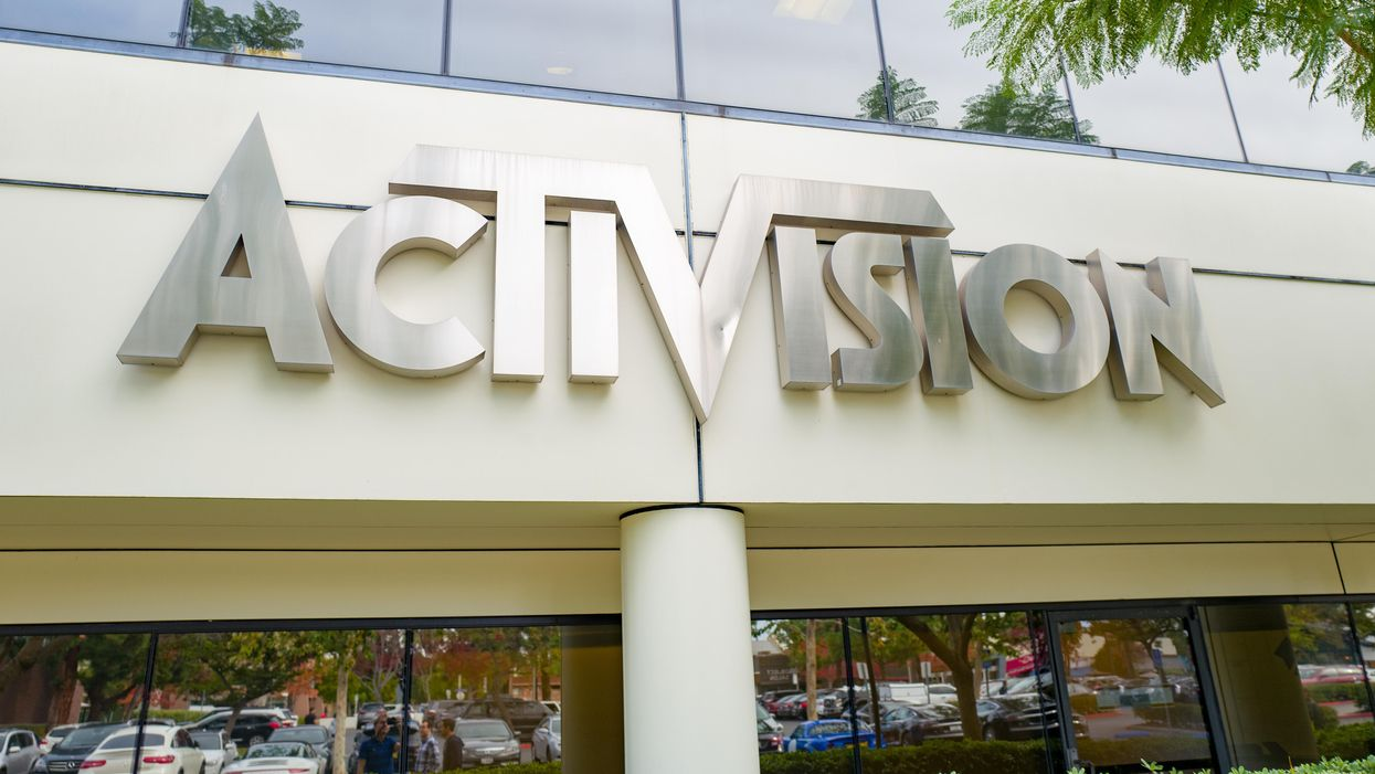 Activision Blizzard sued over alleged sexist and toxic workplace culture