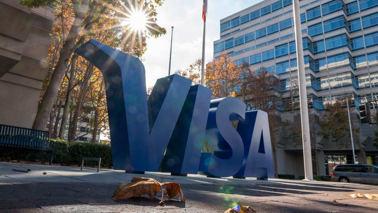 Visa's Foster City offices