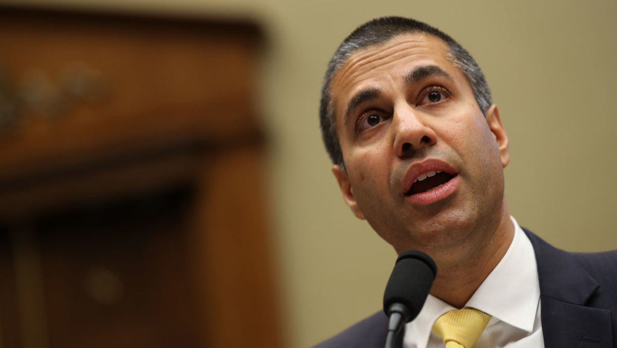 Ajit Pai is distancing himself from President Trump
