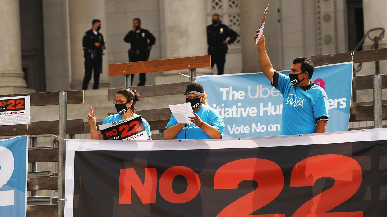A California judge ruled that Prop. 22 is unconstitutional