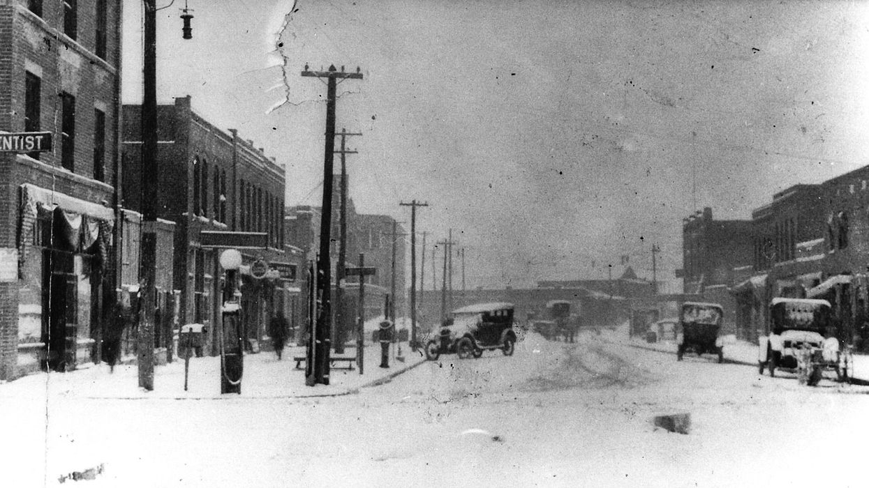Greenwood in Tulsa, Oklahoma in 1910