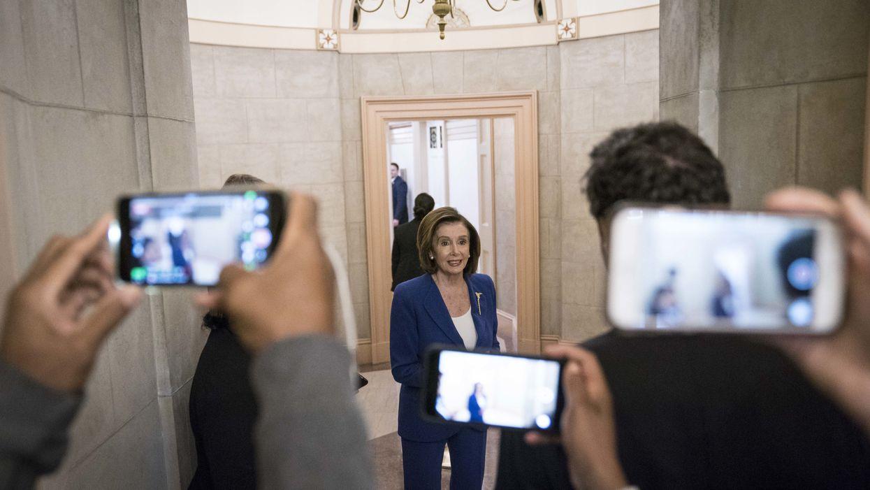 House Majority Leader Nancy Pelosi