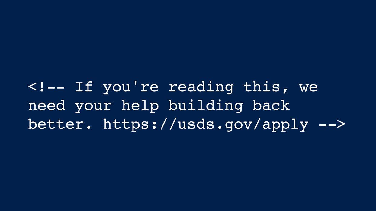 Whitehouse.gov HTML includes Easter egg for coders