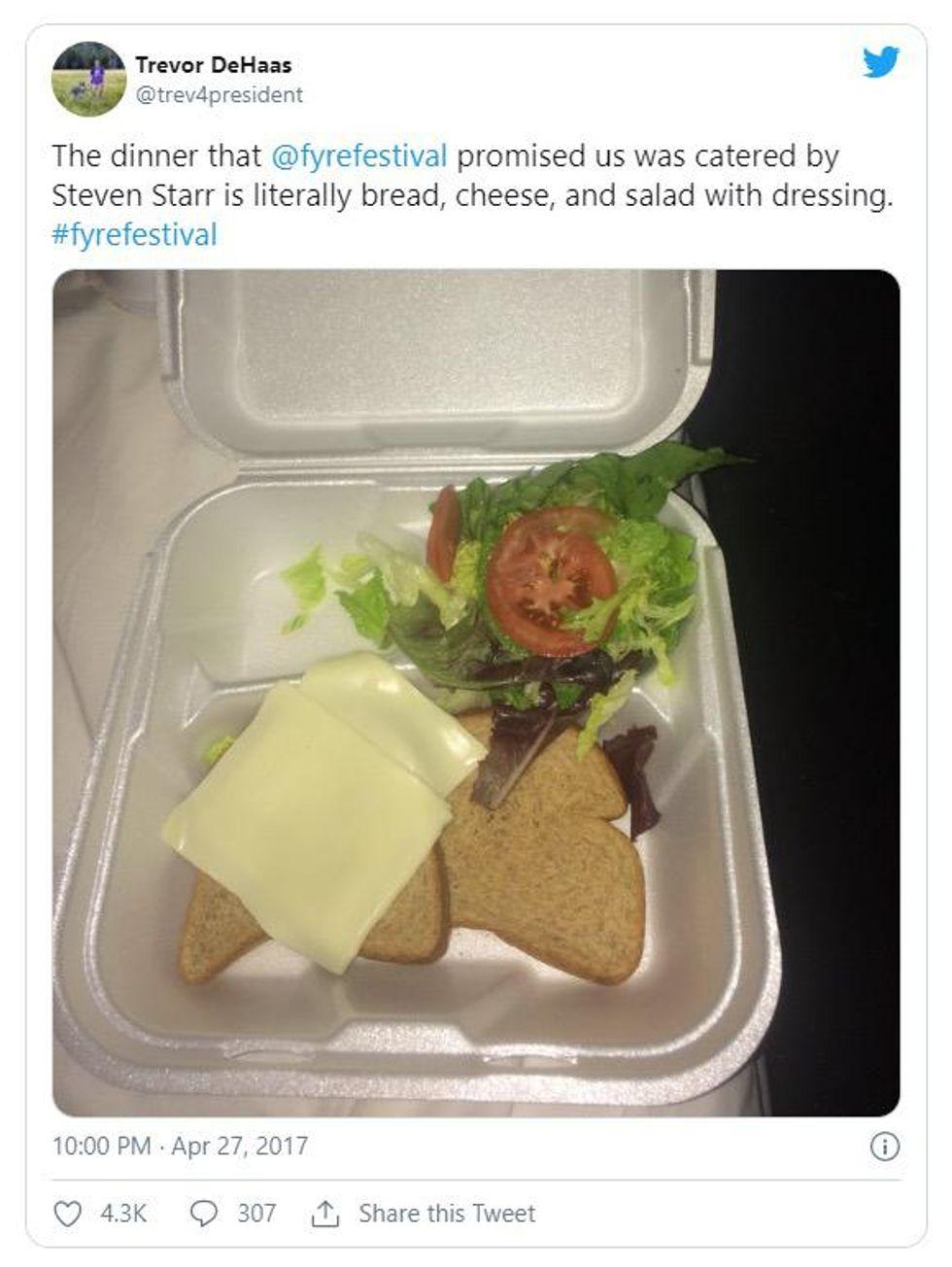 Fyre sandwich