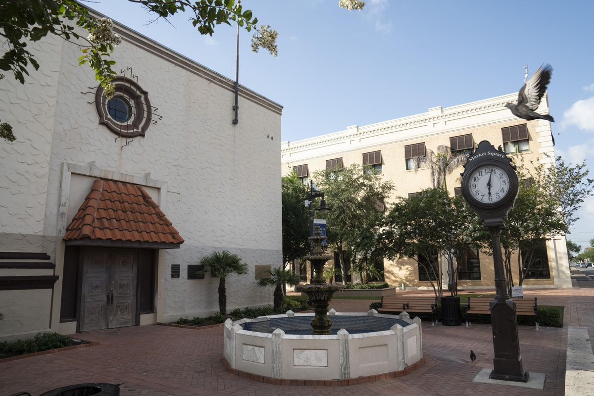 Market Square in Brownsville, Texas was built in 1850.